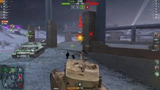 M6A2E1 EXP 5168DMG 3Kills | World of Tanks Blitz | Pan__Lusterko