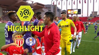 AS Monaco - Toulouse FC (3-2) - Highlights - (ASM - TFC) / 2017-18