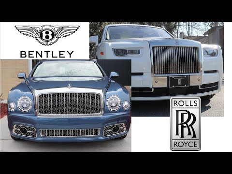 what is the difference between rolls-royce & bentley??? - youtube