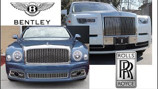 What is the difference between Rolls-Royce & Bentley???