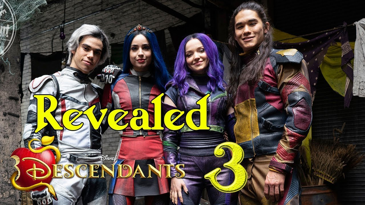 Descendants 3 New Makeovers And Costumes Revealed ✅ Top Stars