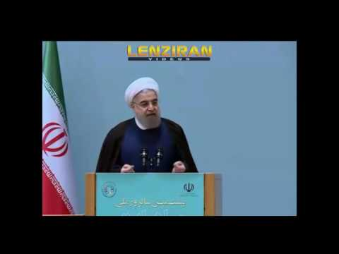 Hassan Rouhani speech on 20 October including censored footage in News