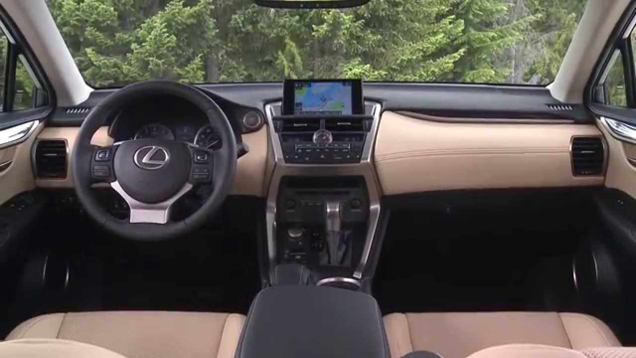Lexus Nx Interior >> 2015 Lexus Nx 200t Exterior And Interior