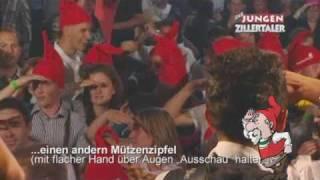 Die jungen Zillertaler :: Drob´n auf´m Berg (Zwergenlied) - Wiesn Hit 2009 :: inkl. Tanzanleitung!