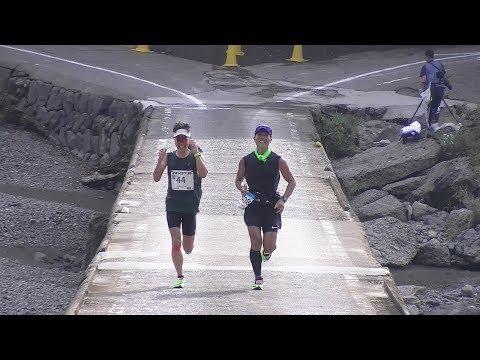 四万十川ウルトラマラソンを駆けるランナーたち