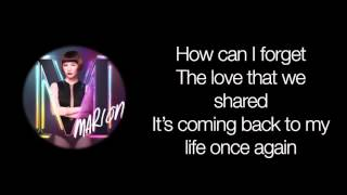 how can i   marion aunor lyrics