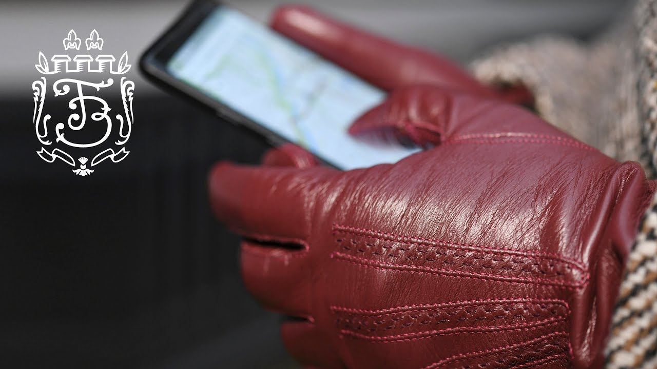 86c8c87f0bbca Best Leather Touchscreen Gloves Explained - Fort Belvedere - YouTube