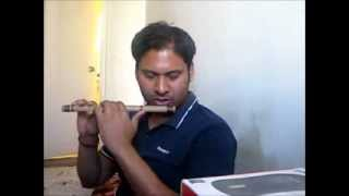learning o kabira on flute
