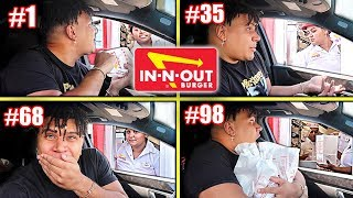 Driving Through The SAME In-N-Out Drive Thru 100 Times (They REFUSE to Serve Me)