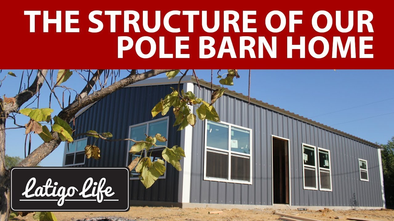 Custom Small Pole Barn House