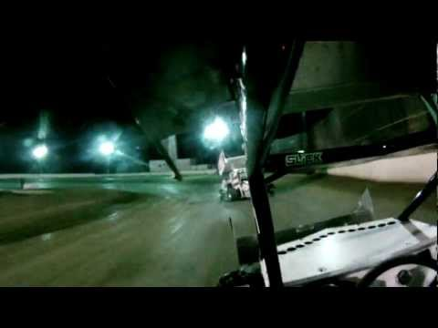 Micro Sprint 6/23/12 Heat Race 3b Dixon Speedway