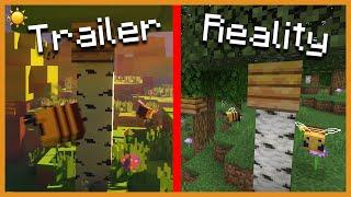 ☀️ MINECRAFT 1.15: Trailer Vs Reality