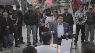 PACO GODOY Dirige la Banda de la Policía, Del Ejército y Municipal El Camari Albazo
