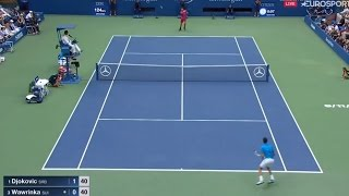 Novak Djokovic vs Stanislas Wawrinka 2016 US Open F I N A L Highlights (HD)
