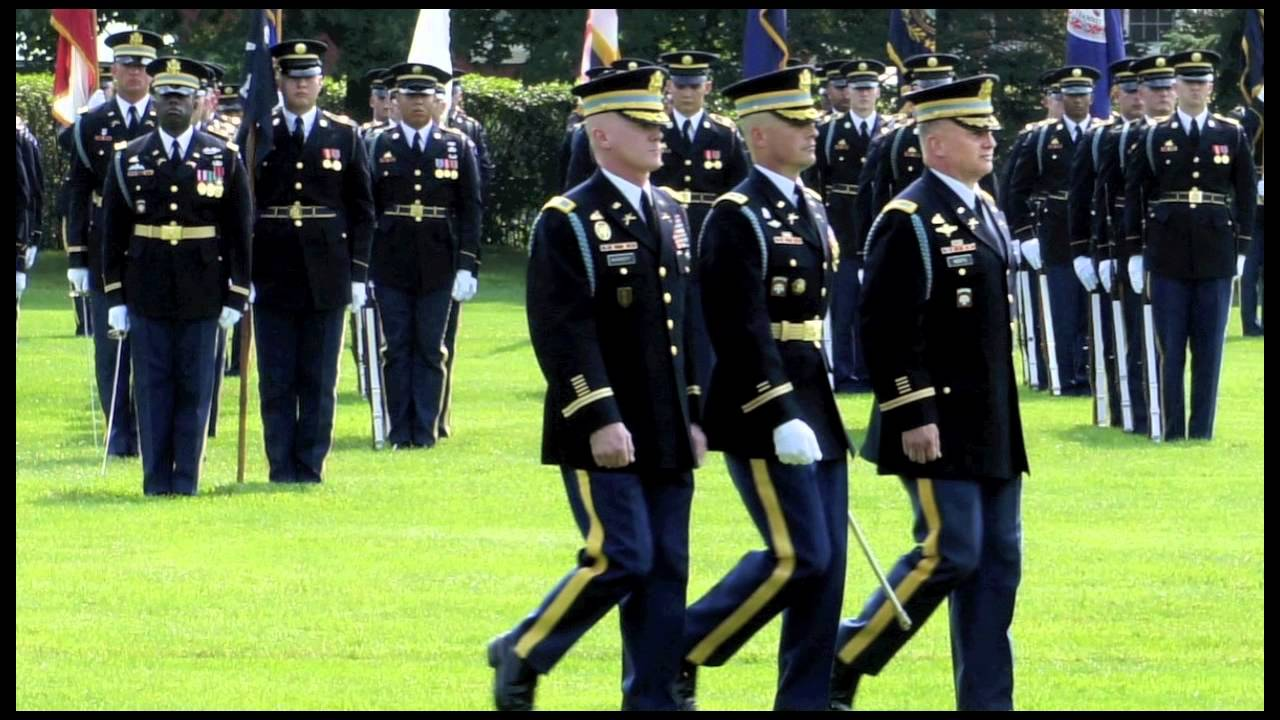 3rd Infantry Regiment The Old Guard Change Of Command 19