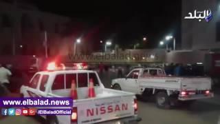 إحباط مفعول قنبلة صوتية بمحيط ميدان ستوتة في طنطا .. فيديو وصور
