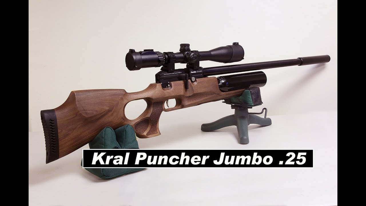 kral Puncher Jumbo  25 - This Gun is Amazing! Initial Tune 46 shots 20  extreme spread