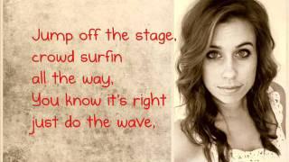 best love song cimorelli cover lyrics on screen