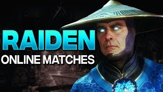 "MK11 Raiden HAS NO MERCY - Mortal Kombat 11 Online Matches ""Raiden"" Gameplay"