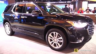 2018 Chevrolet Traverse - Exterior and Interior Walkaround - Debut at 2017 Detroit Auto Show