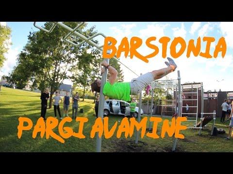 Barstonia Rapla pargi avamine