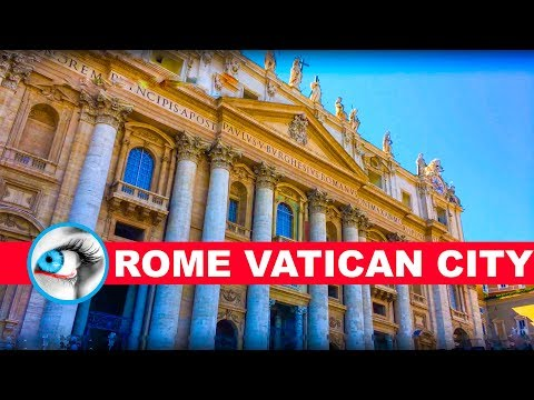 Vatican City Rome 4K Ultra HD Video