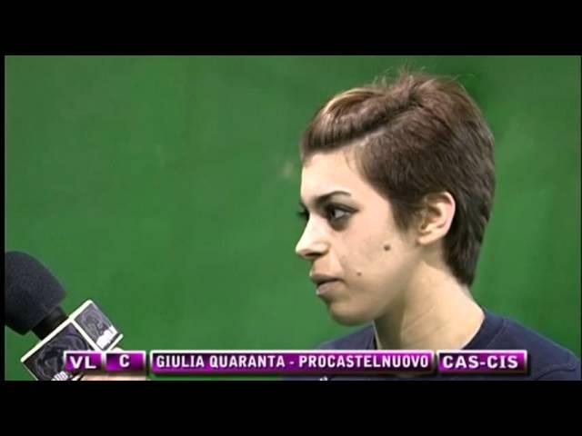 Interviste Procastelnuovo vs Cisterna 88