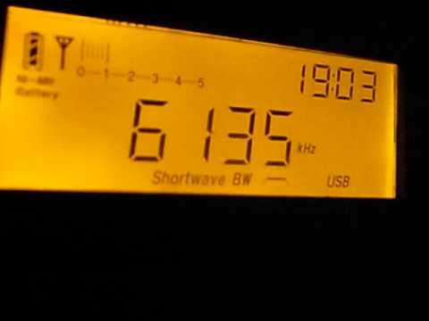 6135kHz Radio Yemen / Radio Sana'a (19:01UTC, Mar 19, 2014)