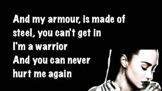 Repeat youtube video Demi Lovato Warrior Lyrics