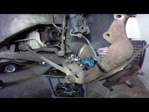 nissan murano awd axle replacment front