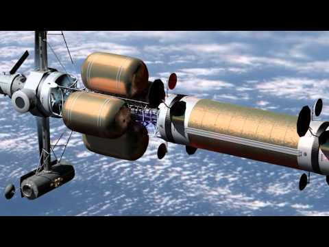 The A.C. Clarke - A Nuclear Thermal Rocket Mars Transfer Vehicle