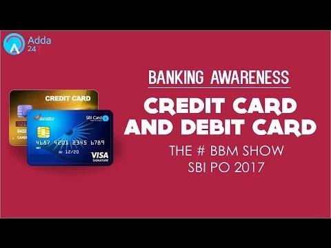 SBI PO 2017 | Banking Awareness | Debit Cards & Credit Cards  | Online Coaching for SBI,IBPS,BANKPO