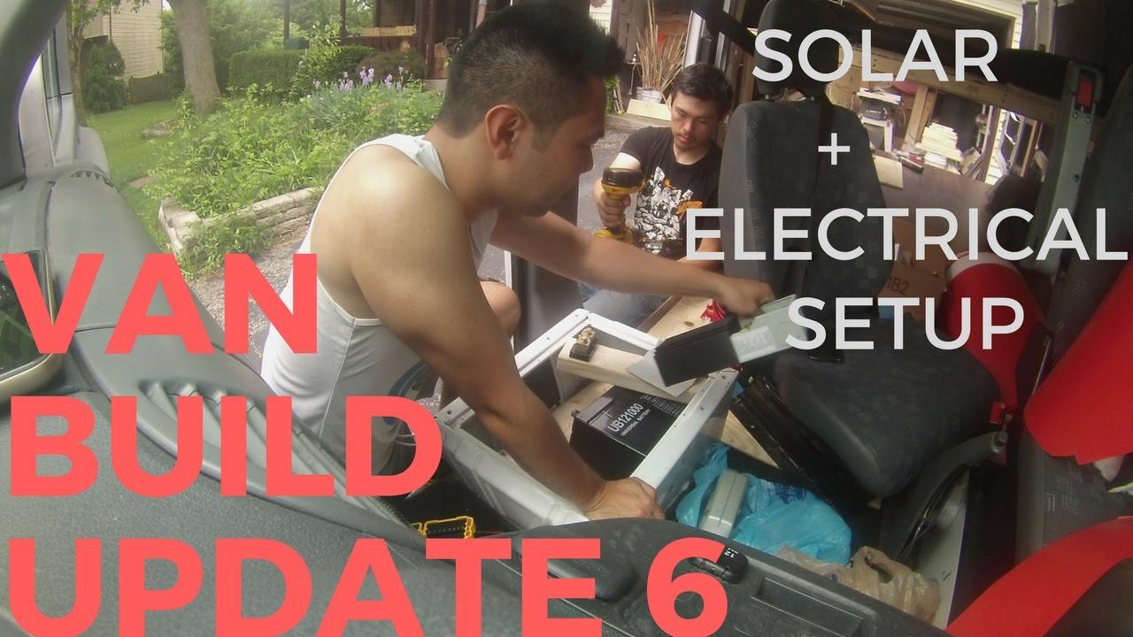SOLAR ELECTRICAL SETUP Sprinter Van Conversion Build