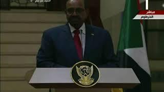كلمة الرئيس السيسي خلال المؤتمر الصحفى مع الرئيس عمر البشير