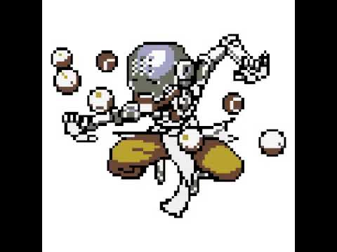 High Quality Zenyatta Pixel Art