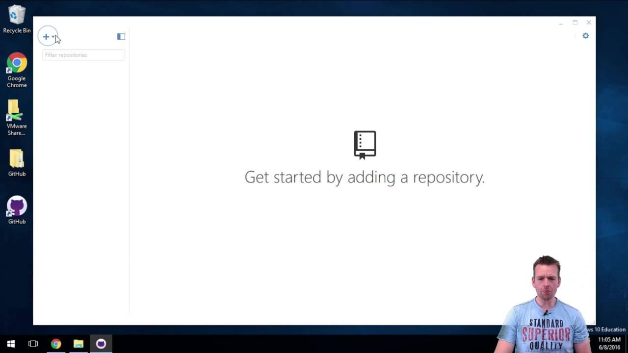 Install GitHub Desktop