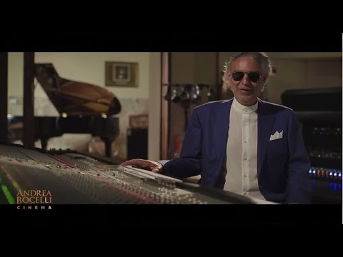 Andrea Bocelli  Cinema Album Trailer Part 1