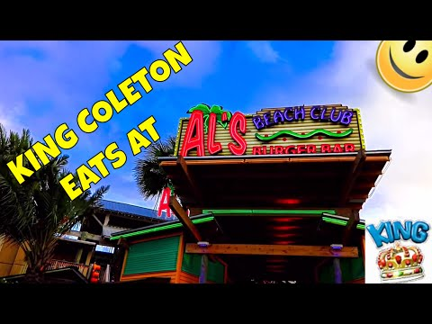 Al's Beach Club Burger Bar, Okaloosa Island, Fort Walton Beach, Florida
