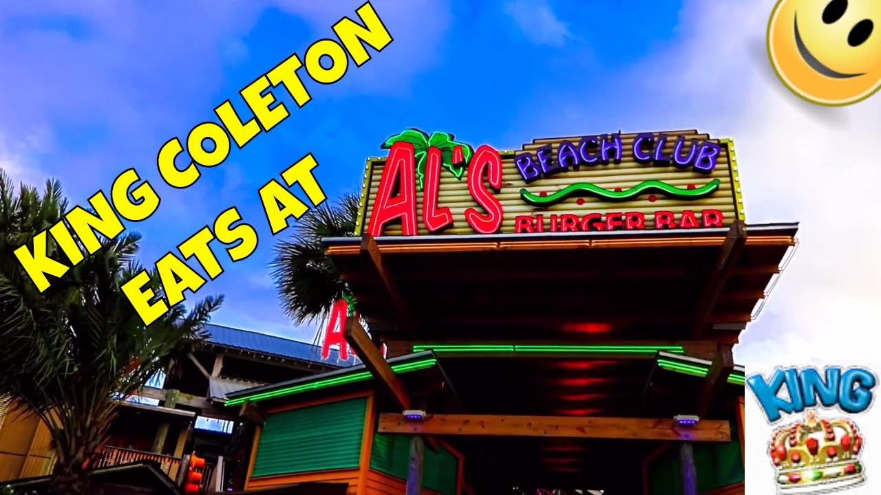 Al S Beach Club Burger Bar Okaloosa Island Fort Walton Florida