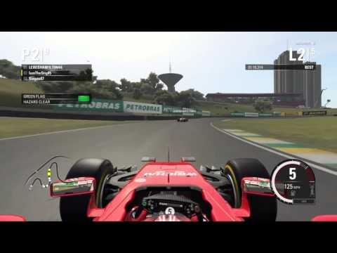 F1 2015 - Wheel to Wheel racing at Sao Paulo