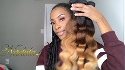 Initial Nadula Ombre Hair Review