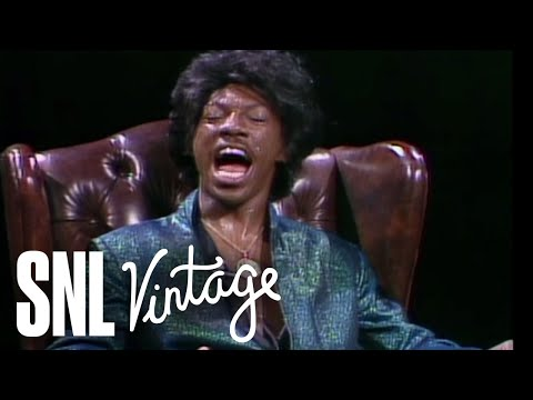 Speaking Freely -- James Brown - Saturday Night Live