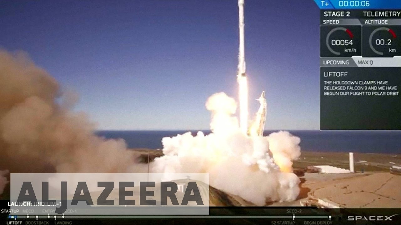SpaceX rocket successfully takes flight
