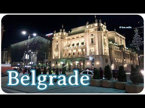 Belgrade at Night - New 2018, Full HD