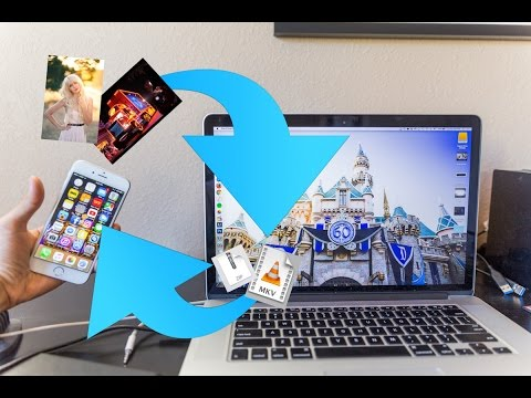 How to transfer files between Mac and iPhone wirelessly & without internet!