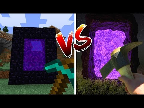 MINECRAFT vs REAL LIFE thumbnail