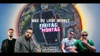 Mashup-Germany - Was du Liebe nennst von Freitag auf Montag (Bausa vs  SDP feat  Sido
