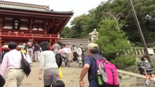 狛犬も独特ですね 鎌倉初代将軍源頼朝ゆかりの神社で 日本三大八幡神社...