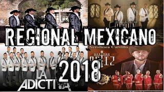 5 Canciones más reproducidas en el 2018 | Regional mexicano