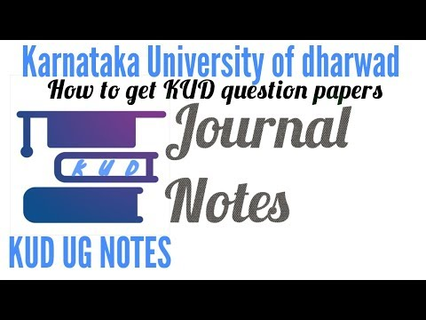 KUD UG NOTES (Karnataka University Dharwad) – Apps on Google